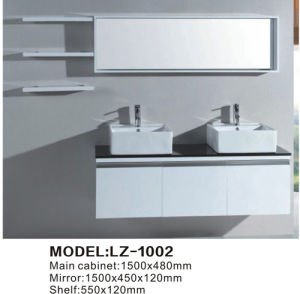 Luxury Bathroom Vanity Cabinet with Double Sink Home & Garden Furniture Stores pictures & photos