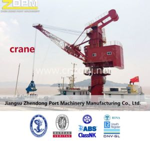 Floating Ship Crane Dock Vessel Fixed on The Deck Electrical Offshore Shipping pictures & photos