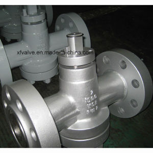 Inverted Pressure Oil Seal Balance Lubricated Flanged End Plug Valve pictures & photos