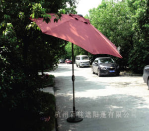 Useful Outdoor Sunshade 9FT Promotional Garden Umbrella pictures & photos
