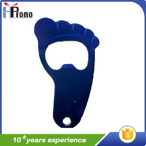 Dark Blue Foot-Shaped Metal Can Opener pictures & photos
