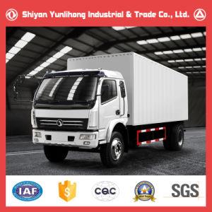 Sitom 4X2 4 Wheeler Cargo Box Trucks Specifications pictures & photos