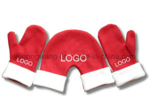 Customized Knitted Warm Polar Fleece Kid′s Gloves/Mittens pictures & photos