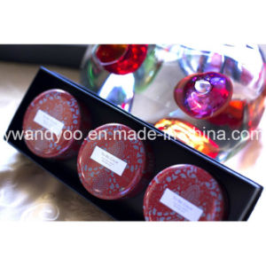 @Christmas Seriess Water Lily Organic Soy Wax Natural Scented Tin Candle pictures & photos