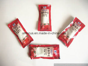 3 Sides/4 Sides/Back (pillow) Side Sachet Ketchup Packing Machine pictures & photos