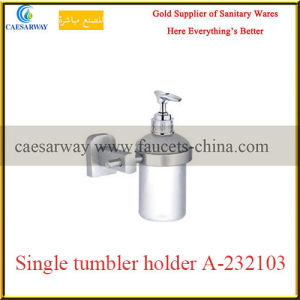 Sanitary Ware Bathroom Brass Fittings Brass Single Glass Holder pictures & photos
