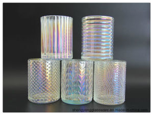 Tea Light Ion Plating Glass Jars for Candle for Festival Celebrate pictures & photos