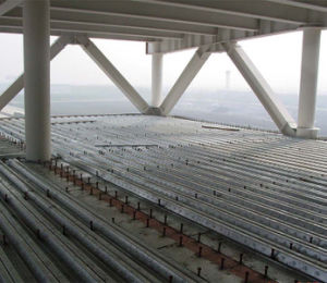High Strength Waterproof 2ND Steel Floor Decking Metal Flooring Deck pictures & photos