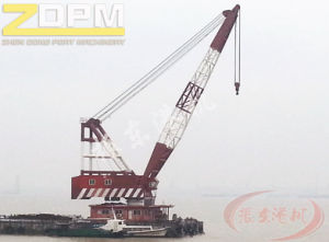 Floating Crane for Dock/Offshore/Shipyard/Marine with Best Price pictures & photos
