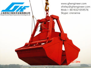 Electrical Hydraulic Grab with Wireless Remote Control pictures & photos
