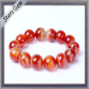 Red Color Brazil Natural Bracelet Beads pictures & photos