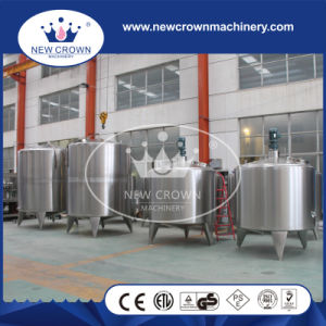Capacity Customized Stainless Steel Juice Mixing Tank with Control Box pictures & photos