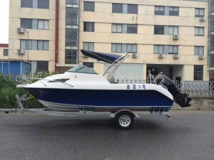 Fiberglass High Speed Fishing Boat