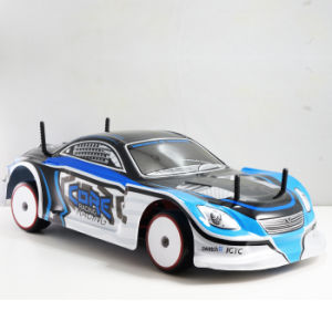 Electric 1/10 RC Brushless RTR Drift RC Car 4WD with Blue Shape pictures & photos