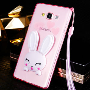 Pink Rabbit Phone Case with Stand and Fragrance for Samsung pictures & photos