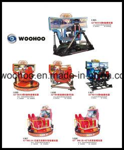 Indoor Playground 32′′ Q5 The Intelligent Racing Car Game Simulator Equipment pictures & photos