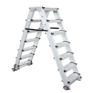 (375LBS) Aluminum Alloy Portable and 7-Step Ladder pictures & photos