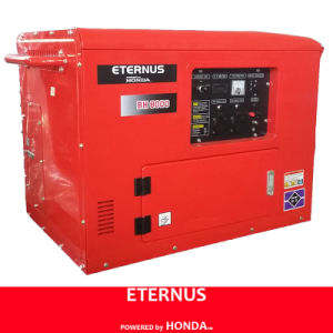 Silent Single-Phase Gasoline Generating Set (BH8000) pictures & photos