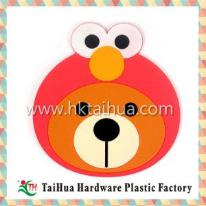 Waterproof Soft PVC Cute Shape Cup Mats for Promotional Gift pictures & photos