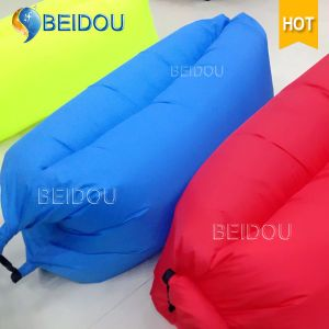 Laybag Bean Bags Inflatable Air Sofa Bed Inflatable Banana Sleeping Bags Hangout Hammock