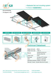 Solar PV System for Flat Roof Mounting pictures & photos