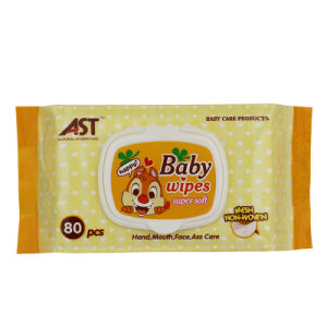 80 PCS Non-Woven Cotton Baby Wet Wipe Baby Products pictures & photos