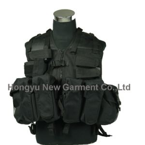Molle Police Military Airsoft Tactical Vest (HY-V055) pictures & photos