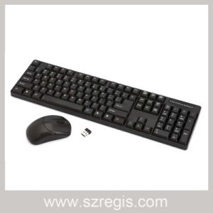 Waterproof 2.4G Wireless Computer Mouse and Keyboard for Smart TV pictures & photos