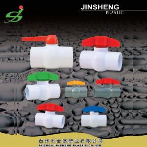 Irrigation Plastic UPVC Ball Valve with Thread End pictures & photos