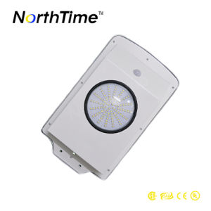6W Waterproof IP65 Motion Sensor Integrated Solar Street Light pictures & photos