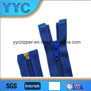 Quality Guarantee Wholesale #7 Nylon Zipper Open-End with Auto-Lock Normal Slider