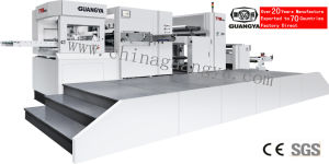 Popular Automatic Roll to Sheet Die Cutting Machine (1050*750mm, TYM1050) pictures & photos