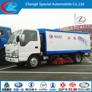 Euro4 Diesel 95HP Dongfeng 4X2 Road Sweeping Truck pictures & photos