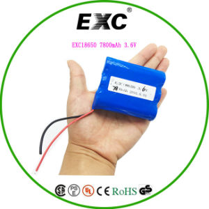 18650 Lithium Battery Rechargeable Cylindrial Battery Pack pictures & photos
