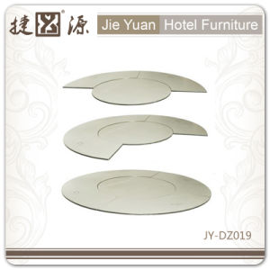 Wholesale Price Banquet Plywood White Restaurant Table (JY-DZ019) pictures & photos