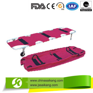 Waterproof Foldable Automatic Loading Medical Stretcher pictures & photos