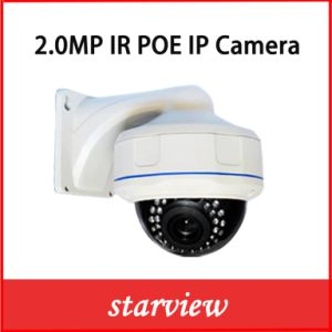 2.0MP Waterproof IR Outdoor Network IP Poe Dome Camera pictures & photos