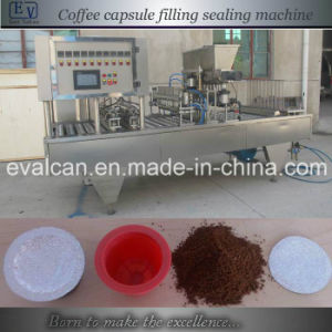 Automatic Cup Coffee Capsule Filling Packing Machine pictures & photos