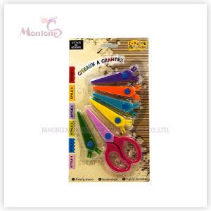 Rubber Plastic Handle Scissors pictures & photos