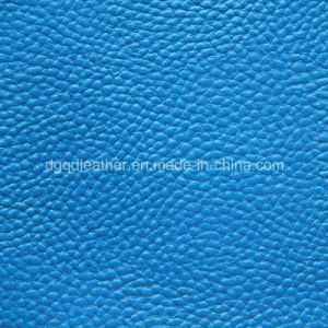 Soft and Strong Hand Feeling Like Real Leather for Furniture Leather (QDL-53164) pictures & photos
