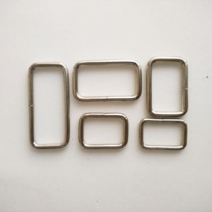 Iron Square Buckle Ring for Bags pictures & photos
