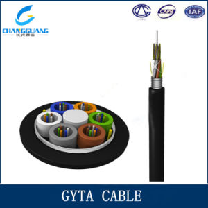 Factory Supply 12 24 48 96 Core GYTA/S Optical Fiber Cable Price pictures & photos