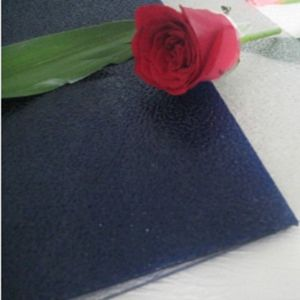 Plastic Polycarbonate Embossed Sheet Unbreakable Glass for Building Material