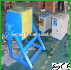 Gbt Small Induction Melting Furnace for Metal Scrap pictures & photos