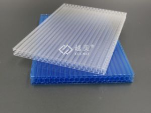 Decorative Sheet for Wall Double Wall Polycarbonate Sheets pictures & photos