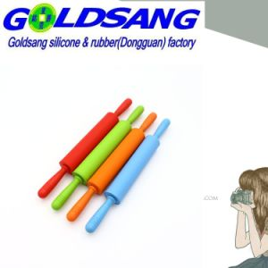 Silicone Flour Rolling Pin Nonstick and Easy to Take pictures & photos
