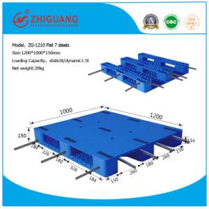 1200*1000*150mm Flat Heavy Deck Rackable Plastic Pallet pictures & photos