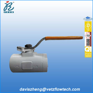 1 in Class 800 NPT 2PC A105 Omb Type Compact Soft Seated Floating Ball Valves