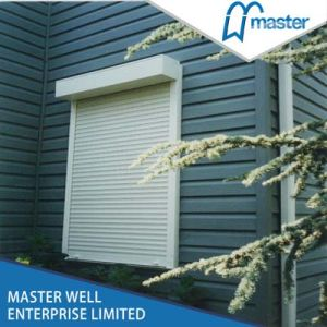 Safety Electric Roller Shutter Exterior Window pictures & photos
