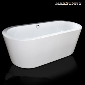 New Hot Sale Acrylic Freestanding Ellipse Simple Bathtub (BNG4001)